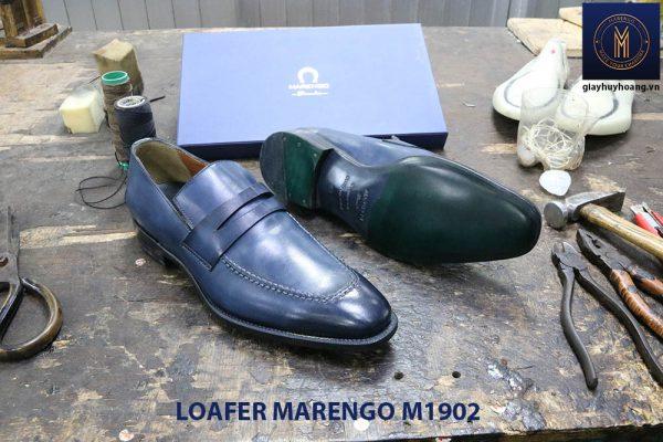Giày lười loafer nam da bò marengo M1902 004