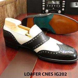 Giày lười nam công sở Loafer CNES IG202 size 42 003