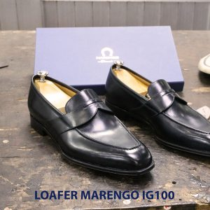 Giày tây lười nam không dây Marengo IG100 004