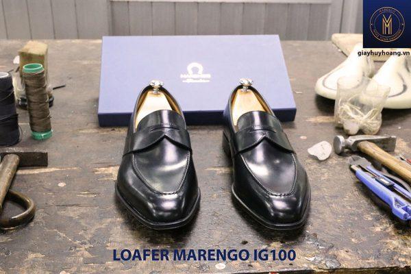 Giày tây lười nam không dây Marengo IG100 003