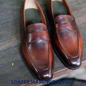 Giày tây lười nam không dây Marengo IG100 002