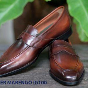 Giày tây lười nam không dây Marengo IG100 001