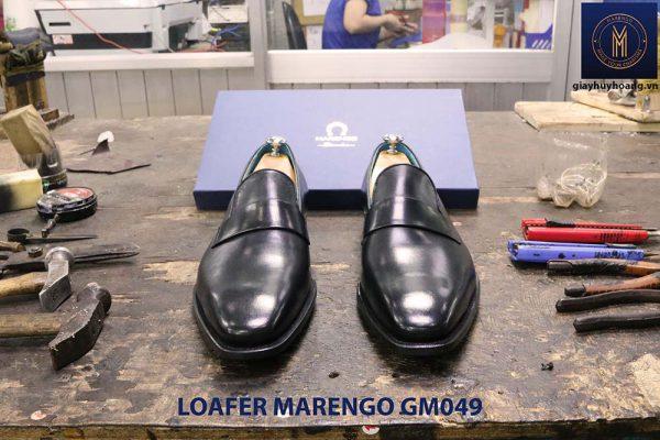 giày lười loafer không dây da bò marengo gm049 004
