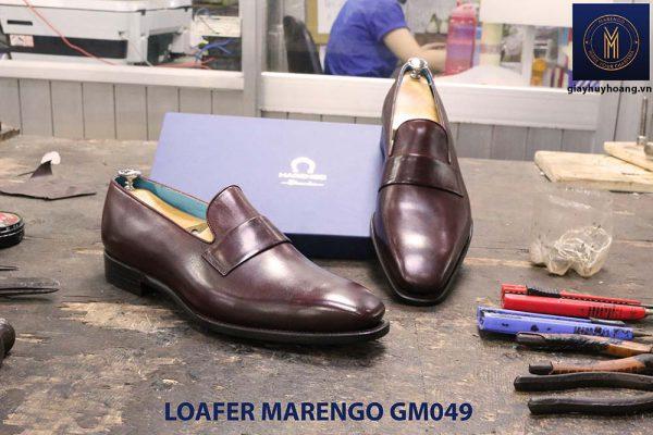giày lười loafer không dây da bò marengo gm049 003