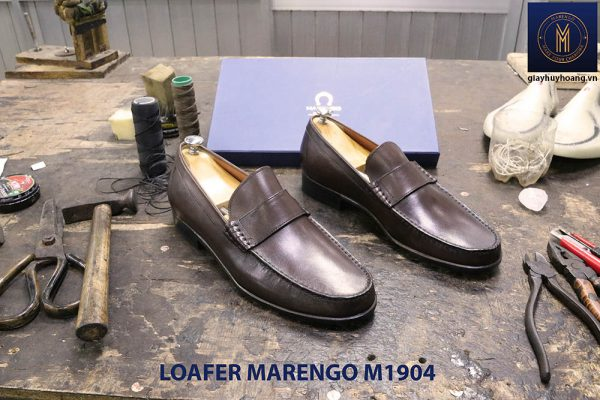 Giày lười không dây Loafer Marengo M1904 003