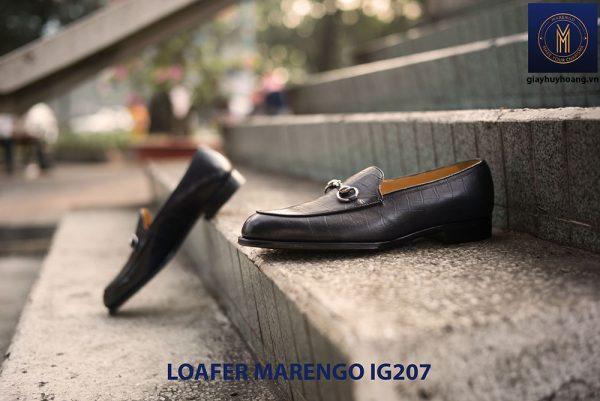 Giày lười nam không dây loafer marengo IG207 006