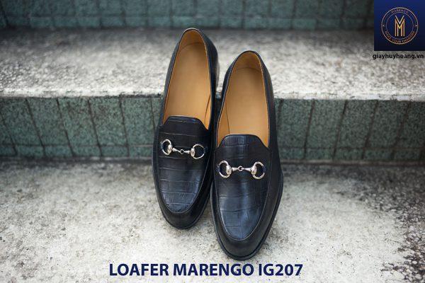 Giày lười nam không dây loafer marengo IG207 001