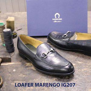 Giày lười nam không dây loafer marengo IG207 003