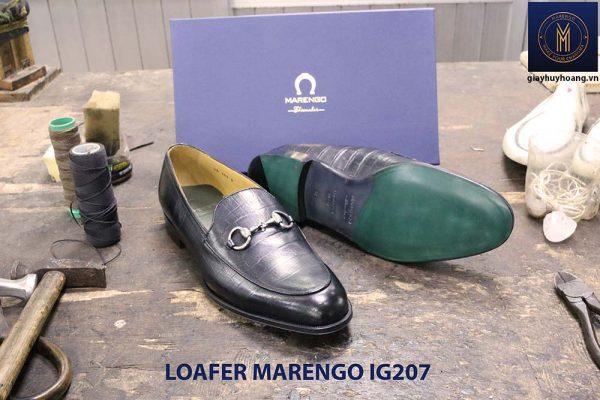 Giày lười nam không dây loafer marengo IG207 002
