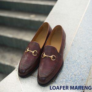 Giày nam không dây loafer Marengo IG208 001