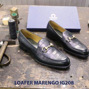 Giày nam không dây loafer Marengo IG208 005