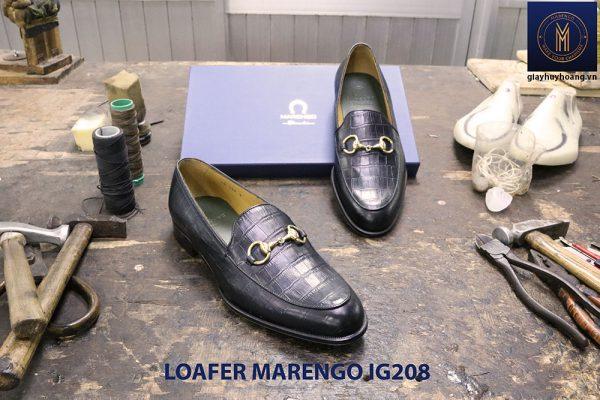 Giày nam không dây loafer Marengo IG208 004