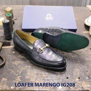 Giày nam không dây loafer Marengo IG208 003