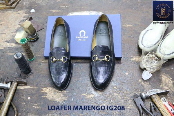 Giày nam không dây loafer Marengo IG208 002