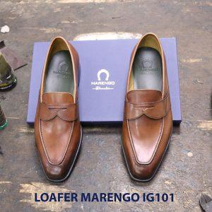 Giày lười nam da bò loafer Marengo IG101 004