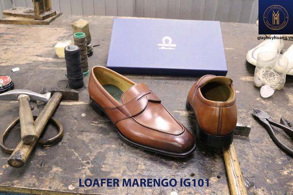 Giày lười nam da bò loafer Marengo IG101 003