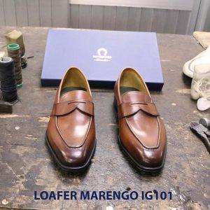 Giày lười nam da bò loafer Marengo IG101 001