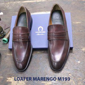 Giày lười nam công sở Penny Loafer Marengo M1953 007