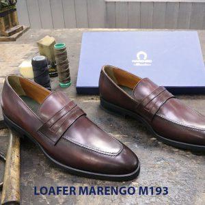 Giày lười nam công sở Penny Loafer Marengo M1953 006