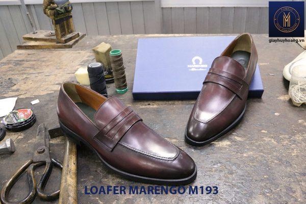 Giày lười nam công sở Penny Loafer Marengo M1953 005