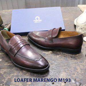 Giày lười nam công sở Penny Loafer Marengo M1953 004