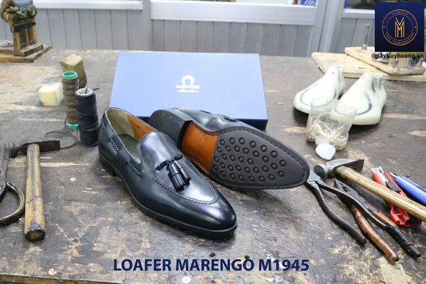 Giày lười không dây Tassel Loafer Marengo M1945 004