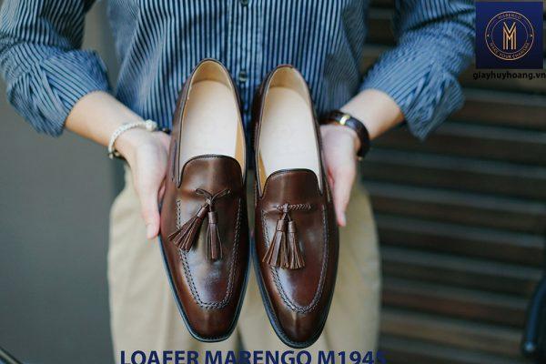 Giày lười không dây Tassel Loafer Marengo M1945 001