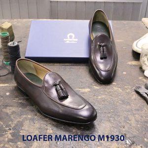 Giày lười đế da Tassel Loafer Marengo M1930 007