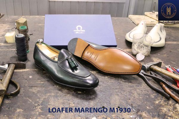 Giày lười đế da Tassel Loafer Marengo M1930 004