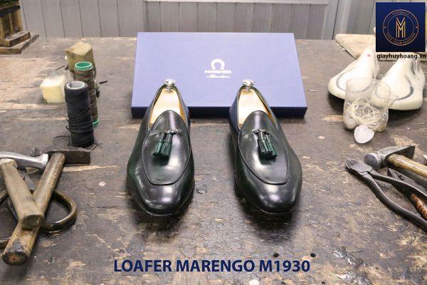 Giày lười đế da Tassel Loafer Marengo M1930 003