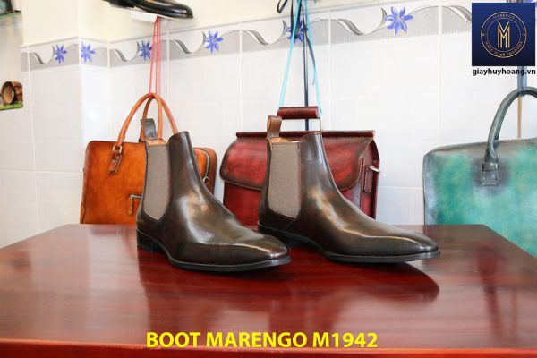 Giày da nam cổ cao Boot Marengo M1942 003