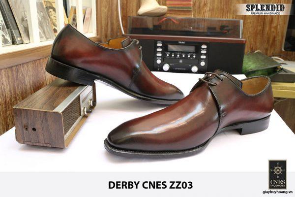 [Outlet] Giày da thời trang Derby CNES zz03 size 47 005