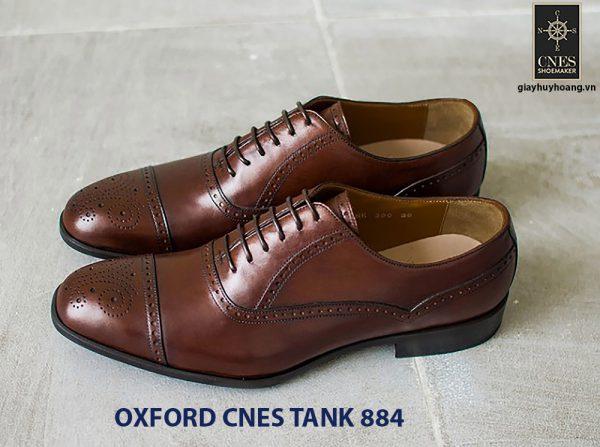 Giày da nam hàng hiệu Oxford CNES Tank884 001