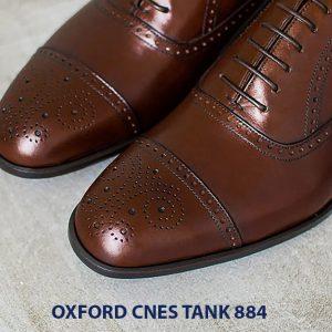Giày da nam hàng hiệu Oxford CNES Tank884 005