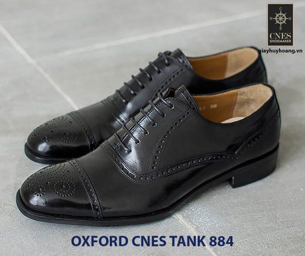 Giày da nam hàng hiệu Oxford CNES Tank884 004