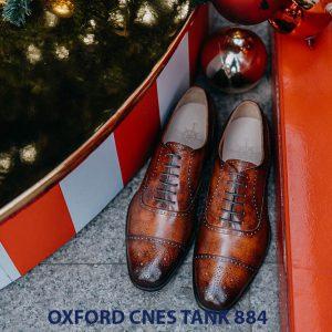 Giày da nam hàng hiệu Oxford CNES Tank884 002