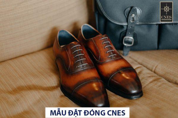 Giày da nam cao cấp Oxford CNES U2006td 001