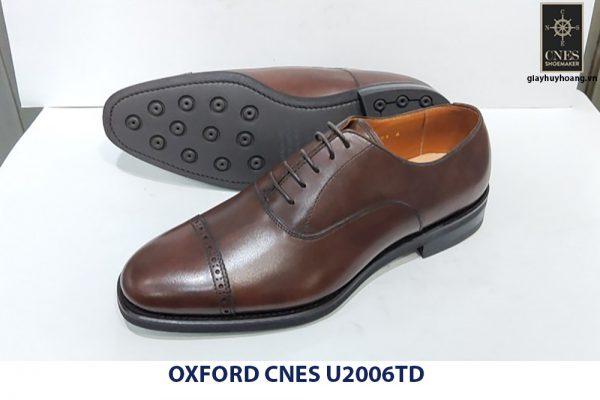 Giày da nam cao cấp Oxford CNES U2006td 002
