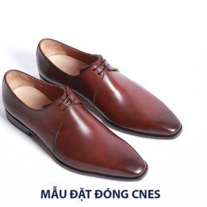 [Outlet] Giày da buộc dây Derby CNES CS65 Size 40+42 001