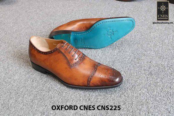 Giày tây nam da đẹp Oxford CNES CNS225 018