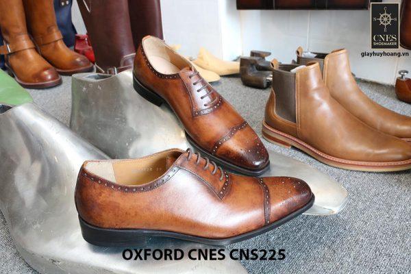 Giày tây nam da đẹp Oxford CNES CNS225 017