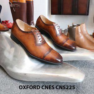 Giày tây nam da đẹp Oxford CNES CNS225 016