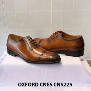Giày tây nam da đẹp Oxford CNES CNS225 015