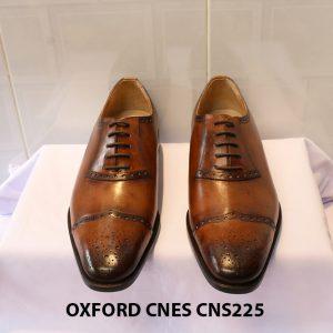 Giày tây nam da đẹp Oxford CNES CNS225 014