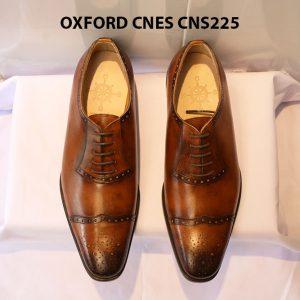 Giày tây nam da đẹp Oxford CNES CNS225 013
