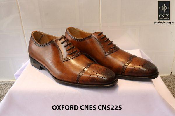 Giày tây nam da đẹp Oxford CNES CNS225 012