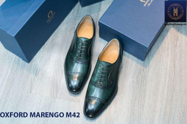 Giày tây nam Oxford Captoe Marengo M42 001