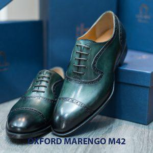 Giày tây nam Oxford Captoe Marengo M42 006