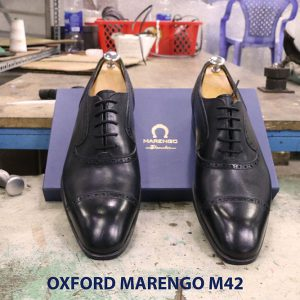 Giày tây nam Oxford Captoe Marengo M42 005
