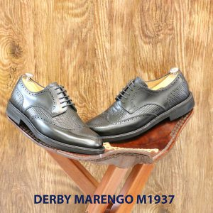 Giày da nam buộc dây Derby Marengo M1937 006